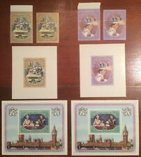 People's Republic of the Congo Queen Elizabeth II Silver Jubilee stamps & S/S NH