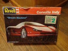 1989 REVELL--DREAM MACHINE CORVETTE INDY CAR--MODEL KIT (NEW)