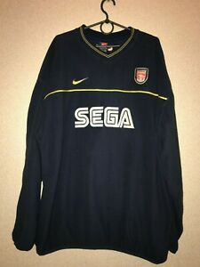 ARSENAL TRAINING JACKET XXL SEGA NIKE RARE VINTAGE