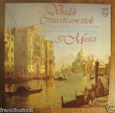 Vivaldi – Concerti con titoli – I Musici - Philips R 215021