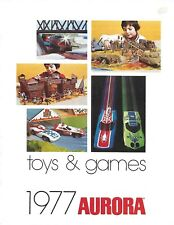 1977 Aurora Toys & Games Catalog (no model kits)