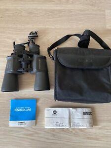 "Minolta Zoom Standard EZ - 8x-20x50 - 2.6"" at 20x Binoculars & Case/Instructions"