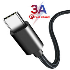For Samsung A71 A21S A40 M51 3A USB Type C Fast Charging Cable Charge Data Cord