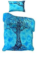 Dry Tree Cotton Blue Color Bedding Twin size Duvet Cover Comforter Hippie Indian