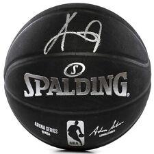 Kyrie Irving Dédicacé Brooklyn Nets Noir Spalding Basketball Panini
