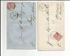 Prusia V/Höxter cuanto 2 k2 en 2 esplendor-cartas m. ndp 4 y 16 1868/69