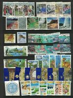 MNZ70) New Zealand 1993 Stamp Sets, Minisheet CTO/Used