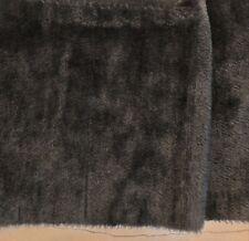 Ein Traum: ALPAKA , schwarz-  20 x 70 cm, 7 mm Florlänge
