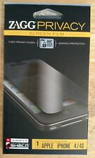 Zagg Privacy Screen Film for Apple iPhone 4/4S