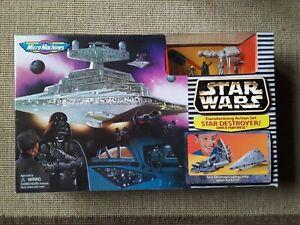 MICRO MACHINES STAR WARS STAR DESTROYER ACTION PLAYSET MISB VINTAGE 1997
