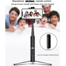 Travel Wireless Remote Wireless Extendable Monopod Selfie Stick Phone Tripod