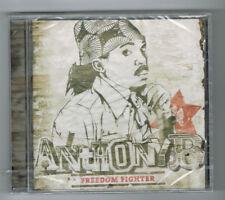 ANTHONY B - FREEDOM FIGHTER - CD 14 TRACKS - 2012 - NEUF NEW NEU