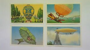Sanitarium Picture & History Cards of Story of Flight 1966 set of 20 ULTRA RARE