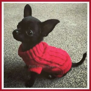 XXXS XXS XS Small Chihuahua Clothes Teacup Tiny TOY Mini Breeds Puppy Dog Coat