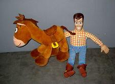 Peluche Toy Story  Pile Poil ( 22 cm ) et Poupée WOODY