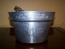 New ListingRare Vintage Planters Mr. Peanut Embossed Oil Fry Pot Fryer Boiler Complete