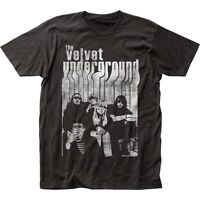 Authentic The Velvet Underground Nico Band Group Distress Vintage photo T-shirt