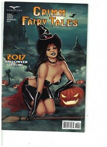 GRIMM FAIRY TALES 2017 HALLOWEEN SPECIAL COVER C BP