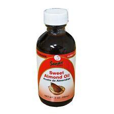 Sanar Naturals Sweet Almond Oil 2oz Aceite de Almendras CombineShiping Available