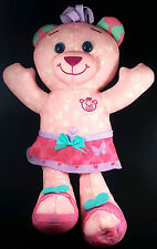 The Original Doodle Bear Purple Pink 2014 Plush Girl Teddy Toy Stuffed Animal