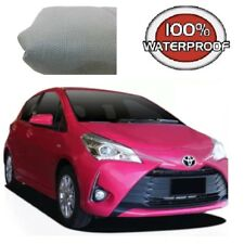 Car Cover Suits Toyota Yaris Hatchback to 4.06m Prestige 100% Waterproof Ultra