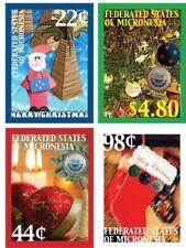 Micronesia- Christmas 2009 4v: 22c 44c 98c 4.80USD