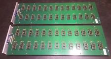 Lot of 2 Delta V Micro Networks Burn-In Test Boards with 26 24-pin DIP sockets