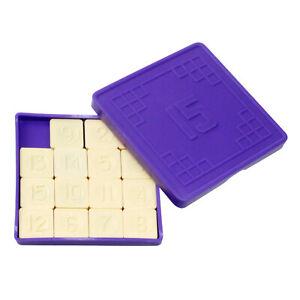 """Logikspiel """"15"""" Puzzle Geduldsspiel Schiebepuzzle Schiebefix пятнашки"""