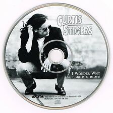 "CURTIS SIGERS - 5"" CD - I Wonder Why USA Picture Disc Pack"
