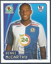 MERLIN-2008-F.A.PREMIER LEAGUE 08- #126-BLACKBURN & SOUTH AFRICA-BENNI McCARTHY