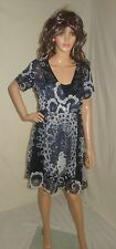 DESIGUAL Dream multi color dress sz 42 new