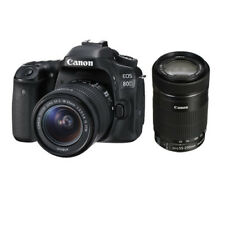 Canon EOS 80D +EF-S 18-55mm STM  +55-250mm IS STM Multi Stock from EU