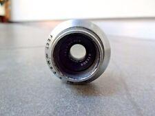 VINTAGE DALLMEYER SPEED ANASTIGMAT WIDE ANGLE 17mm F1.5 C MOUNT Cine Bolex BMCC