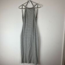 d16cde76a3 Urban Outfitters Silence And Noise White& Black Striped Maxi Dress Large