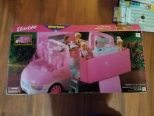 1996 Vintage Barbie Magical Motor Home Rv Camper Vehicle & Accessories and box
