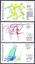 BRD 1984: Olympische Spiele! Sporthilfemarken Nr. 1206-1208, postfrisch! 1A 1806