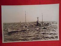 Postkarte Marine Schiffe Original  U-Boot