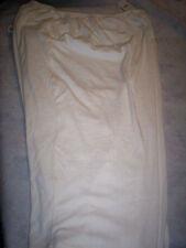 NEW VENEZIA WOMENS COTTON/SPANDEX 2 POCKET STRETCH PANTS- WHITE- 5X