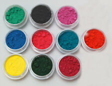 Thermochromic Color Changing Sampler 10 colors pigment Nail ART 31 deg Goo Slime