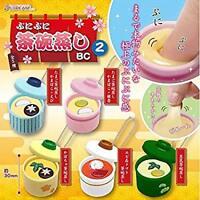 J Dream Punipuni Chawanmushi BC2 Gashapon 5 set mini figure capsule toys Japan