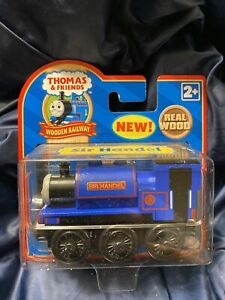 NEW SIR HANDEL Thomas the Tank Engine Wooden trains RETIRED '07 LEARNING CURVE