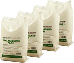 2kg Teppich Reinigungspulver geeignet für Vorwerk Teppichfrischer Teppichpulver