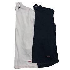 LOT 2 Mizuno Breath Thermo Performance Base Layer Mens Medium Mock Neck Shirts