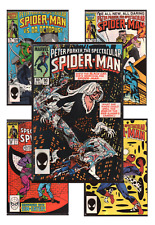 Spectacular Spider-Man #86-168 VF/NM 9.0+ 1984-1991 Marvel Comics Back Issues