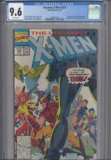 Uncanny X-Men #273 CGC 9.6 1991 Marvel Comics Gambit, Forge, Jubilee Join X-Men