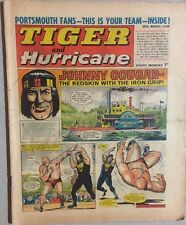 TIGER  and HURRICANE weekly British comic book March 30, 1968