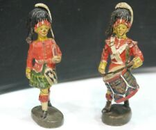 SOLDIERS SCOTTISH OR IRISH PLASTIC PAINTED ELASTOLIN YEARS 30 (A517)