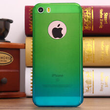 iPhone 6 6s Plus Hybrid 360°【tempered Glass Acrylic 】 Hard Case Cover FR Apple for iPhone 5 5s / SE Green Blue