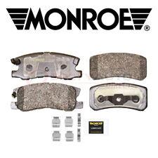 Monroe Total Solution Ceramic Disc Brake Pads for 2008-2017 Jeep Patriot sb