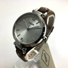Women's Tan Fossil Georgia Leather Watch ES3060